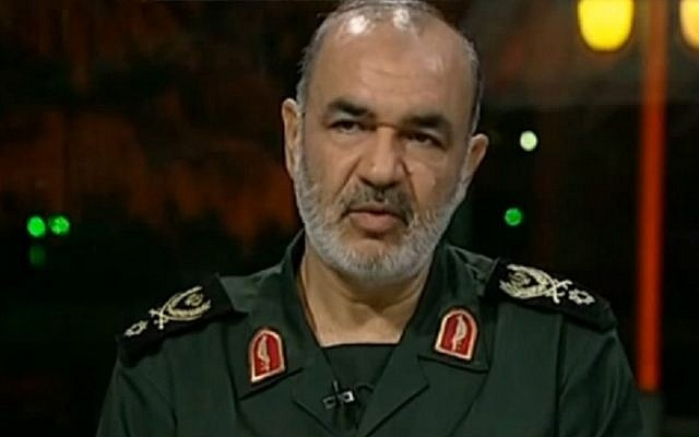 top iranian general forces in syria awaiting orders to destroy