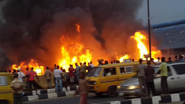 Image result for Fire outbreak agbara