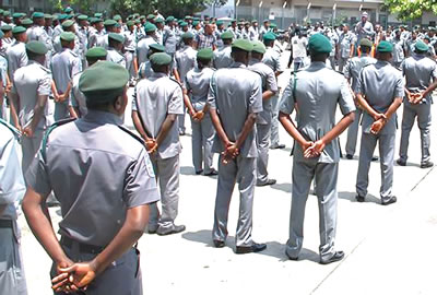 Customs arrest 15 suspects in Adamawa for re-bagging foreign rice