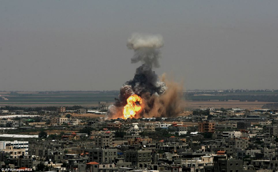 Image result for israel strikes hamas