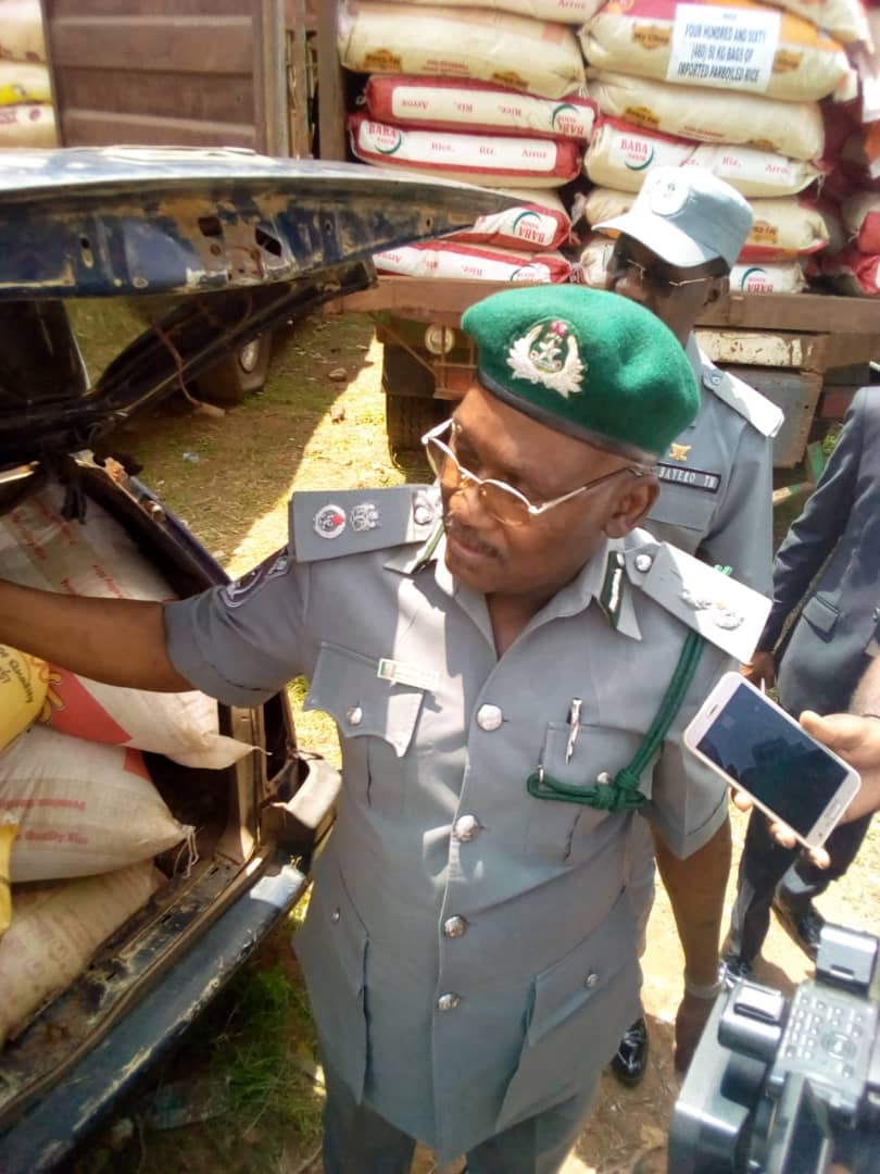 Oyo/Osun Customs seizes 7,951 items, generates N23.8bn in 7 months
