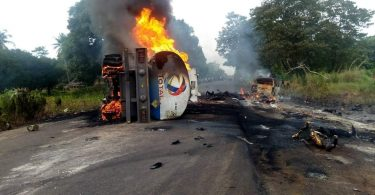 FRSC says 35 persons died in Benue tanker explosion