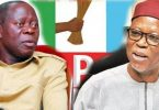 Relationship between Oshiomhole, Odigie-Oyegun worries party scribe