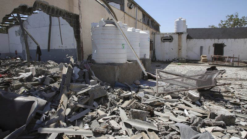 Bombed Tripoli migrant detention centre being emptied -UN