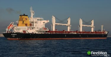Tragic accident on Croatian bulk carrier kills 2 in South Atlantic