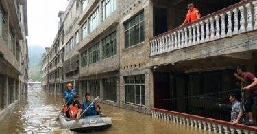 12 die in flash flood in China's Hubei province