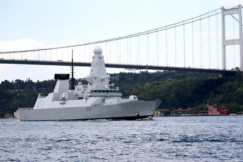 UK joins U.S. for maritime security mission in Gulf