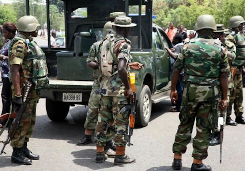 NIGERIA@59: Army arrests suspected insurgents' logistics supplier in Borno