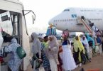 2,737 Nigerian pilgrims return home