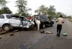 Eid el Kabir: Accident kills 2, injures 5 on Lagos-Ibadan Expressway