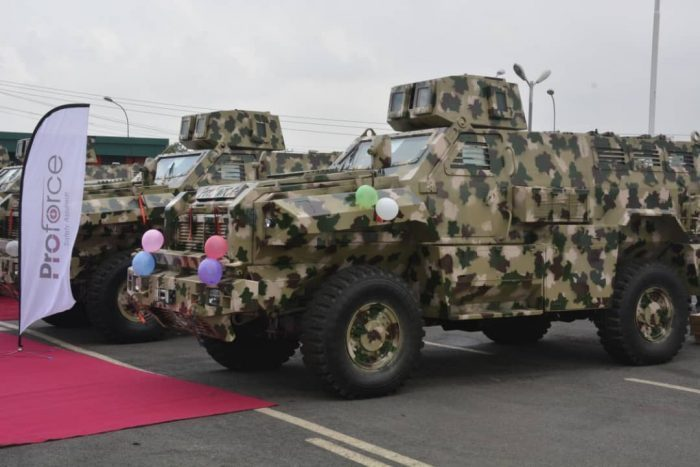 Army deploys mine resistant vehicles for insurgency fight, against ISWAP, BH