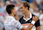 Medvedev shocks Djokovic at Cincinnati Masters