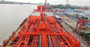 Odfjell Takes Delivery of World's Largest Stainless Steel Chemical Tanker