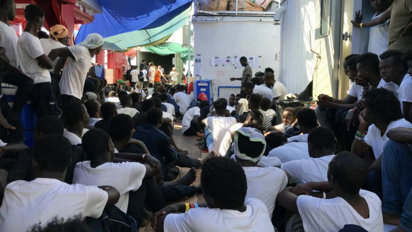 356 migrants on Ocean Viking rescue ship to disembark in Malta