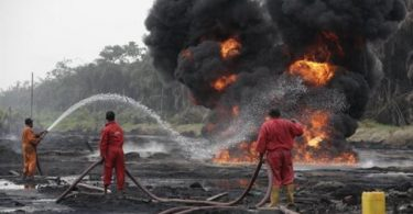 Oil thieves set Agip pipeline ablaze in N/Delta