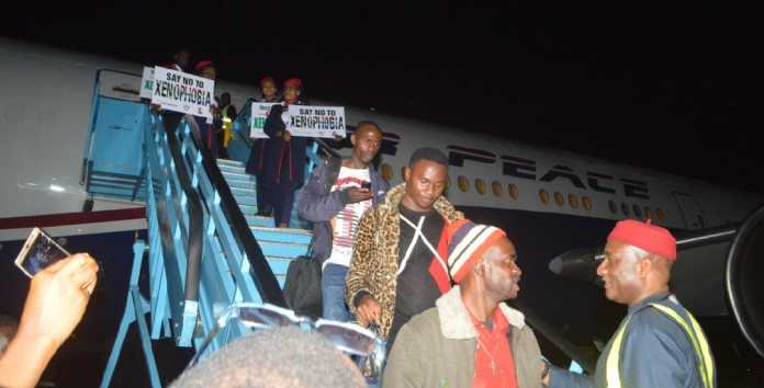 Xenophobia: 187 Nigerians arrive Lagos from South Africa