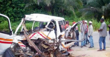 Bus driver dies in Ogun auto crash