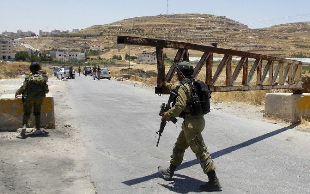 Israel to seal off West Bank and Gaza ahead of Jewish New Year