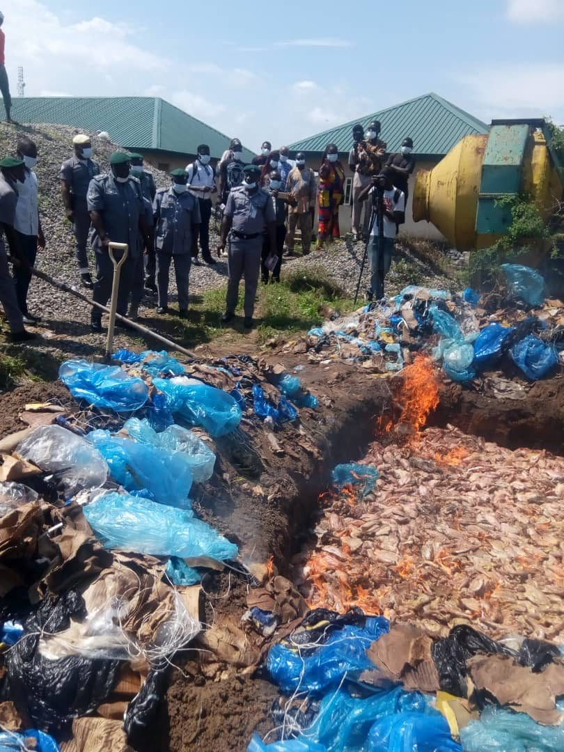 POULTRY: Western Marine impounds N32m Contraband goods on High Sea