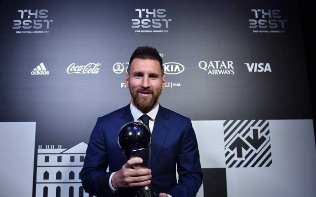 Messi wins 6th best FIFA player of the year