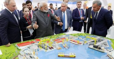 Putin Hosts India's Prime Minister at Remote Eastern Shipyard