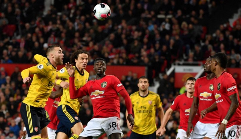 EPL: Manchester United held by Arsenal as both struggle to shine