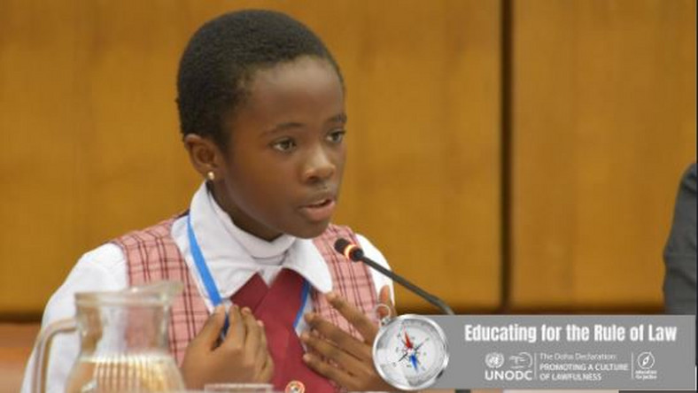 NAOMI: 11-year-old student represents Nigeria at Anti-Corruption Conference in Austria