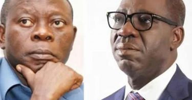 Oshiomhole-Obaseki feud: Ex-governorship aspirant sues for peace