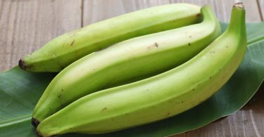 Plantain contains potassium; good for hypertensive patients, dietician