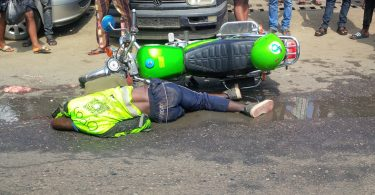 Truck crushes commercial motorcyclist, passenger to death on Lagos-Ibadan Expressway