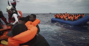 Rescue ship Ocean Viking takes 104 refugees aboard off Libya