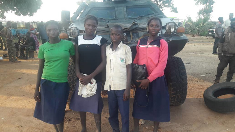 KADUNA: Troops rescue 4 remaining abducted students