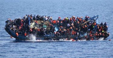 Nine drown, 22 rescued as boat carrying migrants sinks off Sicily