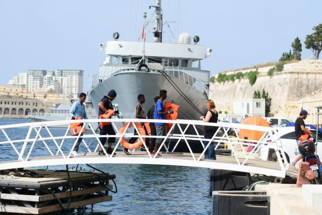 44 migrants disembark in Malta