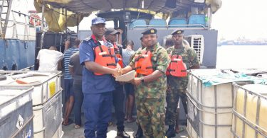 Navy arrests 7 alleged impostors escorting oil vessel in Rivers