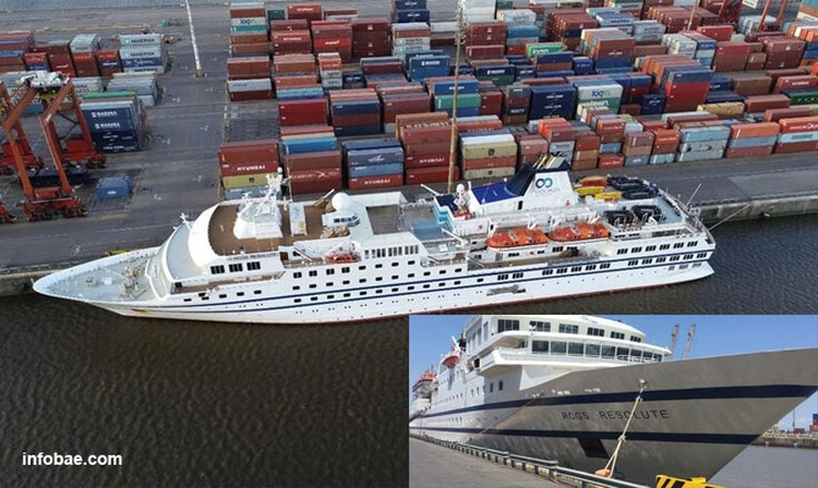 Antarctic cruise cancelled, ship stuck in Buenos Aires