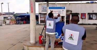 DPR seals filling station in llorin over damaged pumps