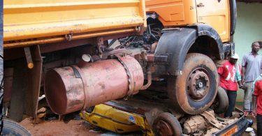One dies, 3 injured in Ogun accident