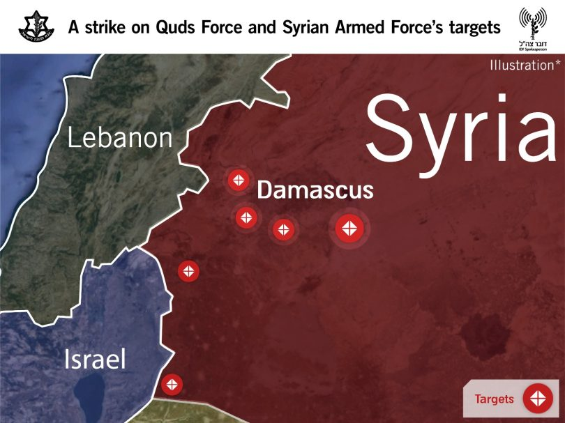 By striking in Syria, Israel sends clear message to Iran that it will not be deterred