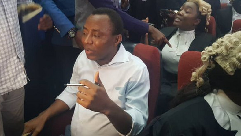 Sowore: Drama in court as DSS application to take witnesses in camera failed