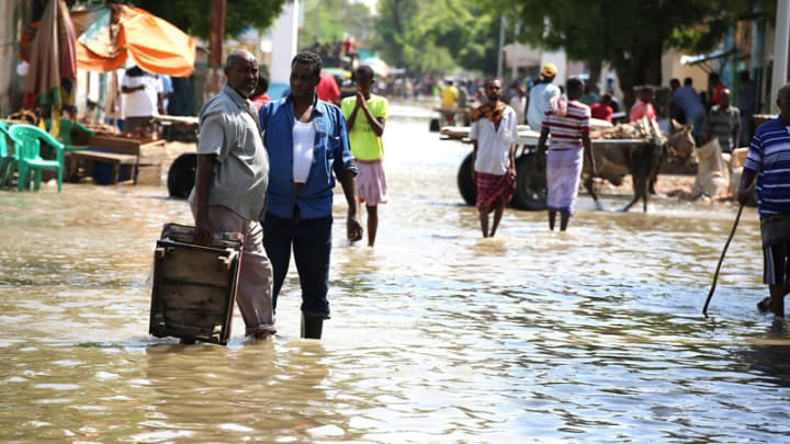 UN says floods kill 280, affect 2.8m others in East Africa