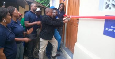 ICNL Donates toilet facility to Randle Secondary School, Apapa