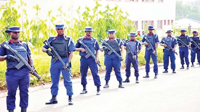 Missing cash: 4 quizzed NSCDC back to post at Bayelsa govt. house
