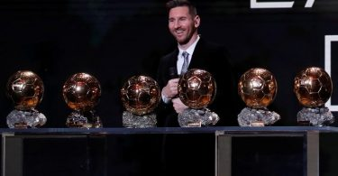 Messi claims record 6th Ballon d'Or, Rapinoe wins women's award