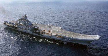 Russian aircraft carrier on fire, 11 injured, 6 critical, 3 missing