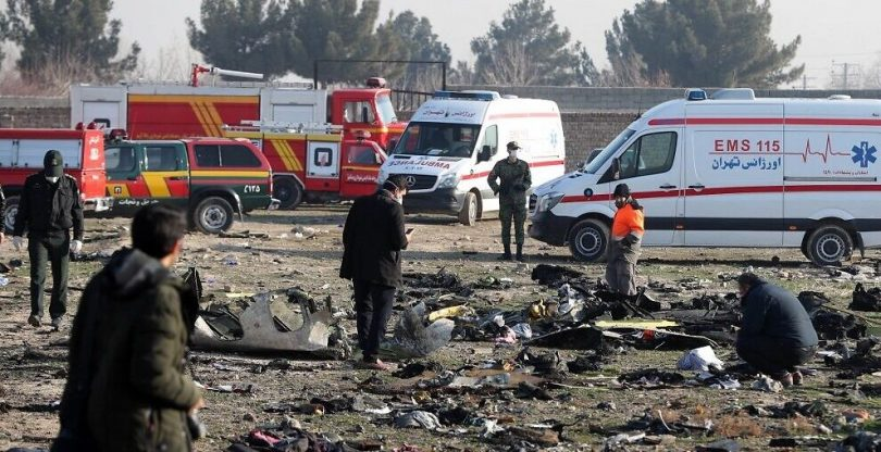 Ukraine outlines 4 theories to explain airliner's deadly crash in Iran