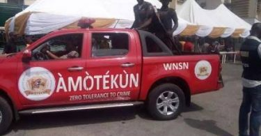 'Amotekun', Yoruba's thin layer security outfit declared illegal by FG