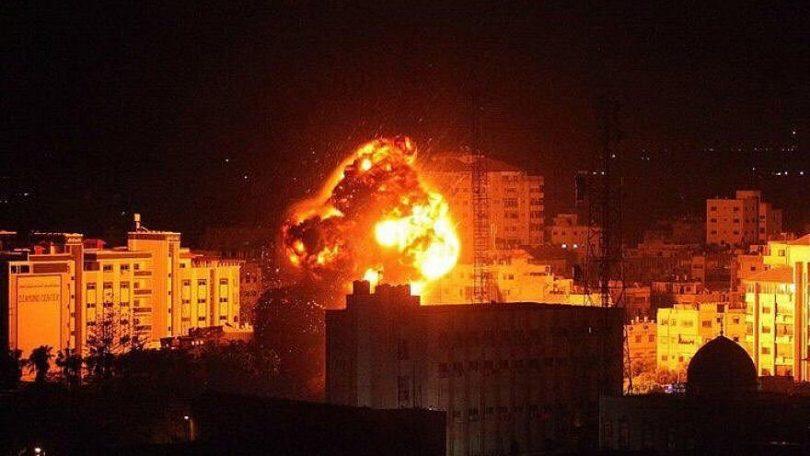 IDF strikes Hamas targets after rocket lands in Israel