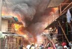 Generator explosion in Balogun Market destroys 7 buildings - LASEMA