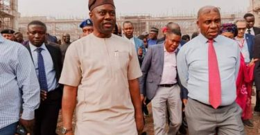 Amaechi inspects Lagos-Ibadan rail project